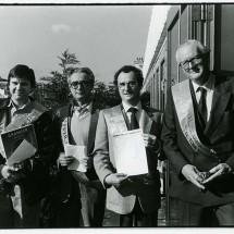 Premier prix de l'humour noir 1986 - Photo B. Des Gayets