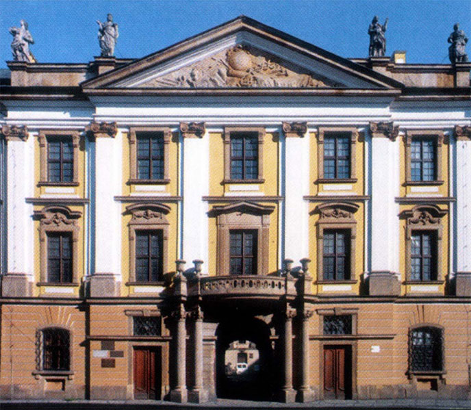 Legnica - photo façade musée Miedzi - Pologne