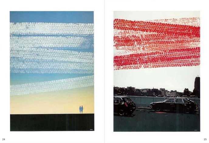 La surface corrigée (1993) - Double page