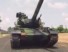 Peindre avec un char . FR2
