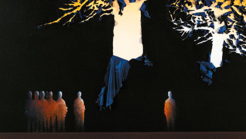 L'arbre à sieste - 2003 - détail
