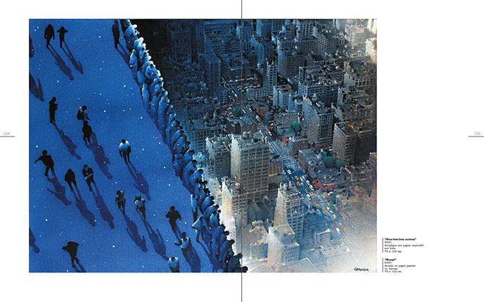Sens dessus dessous (2004) - Double page