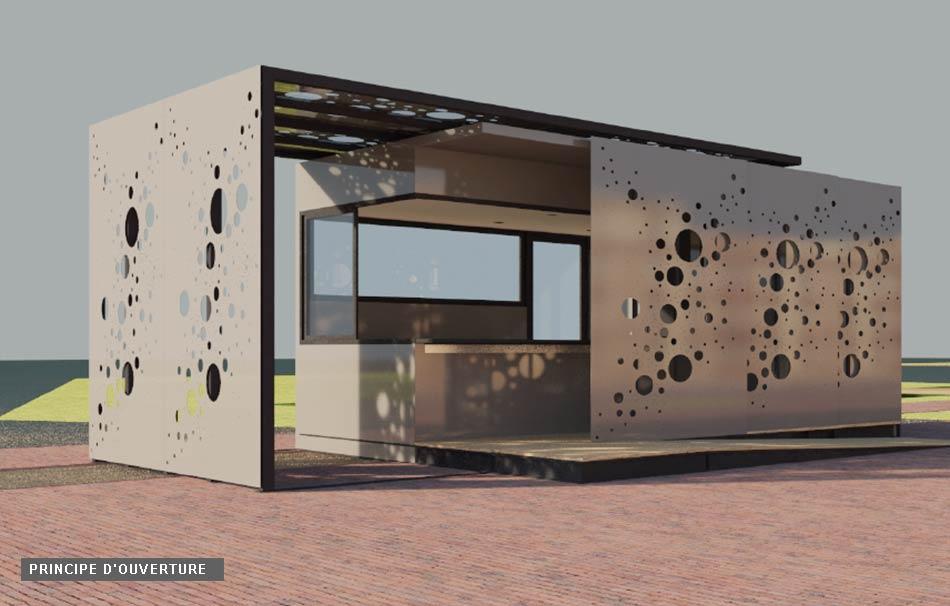 kiosques michel granger. Black Bedroom Furniture Sets. Home Design Ideas