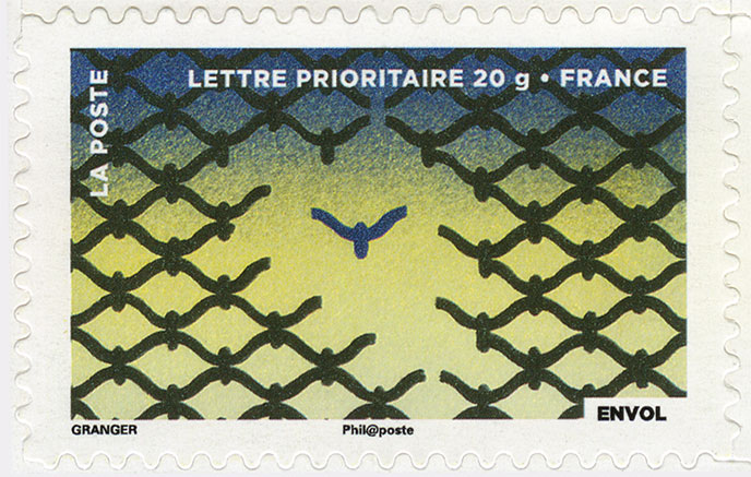 Fête du timbre 2013 - Le timbre fête l'air