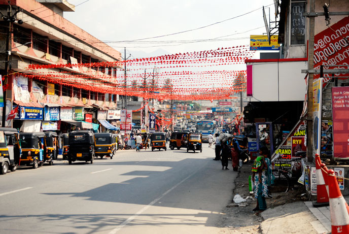 Michel Granger - séjour à Bangalore - Inde