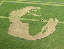 Land Art : Terre 2014