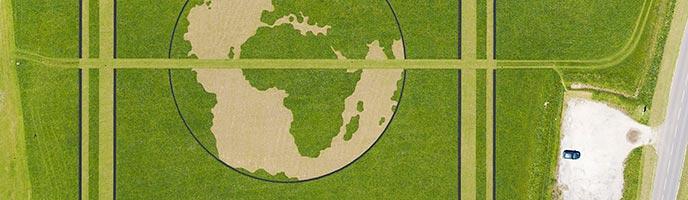 Land Art : Terre