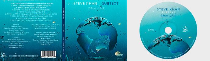 Adaptation de peintures pour le nouvel Album de Steve Khan