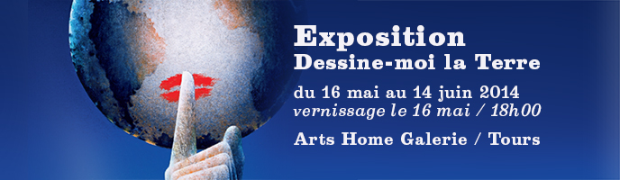 Expo Dessine moi la Terre à Tours
