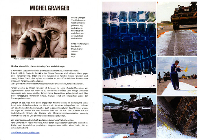 Flyer Michel Granger