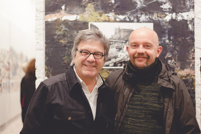 Vernissage, lancement du parfum Michel Granger Tank-You - Galerie Backer Strasse, BERLIN