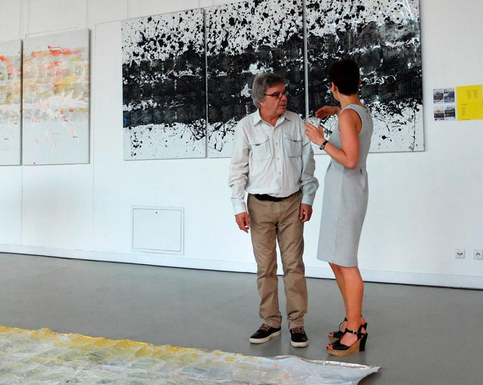 Exposition Michel Granger 2015 - The Eugeniusz Goeppert Academy of art and design - Pologne