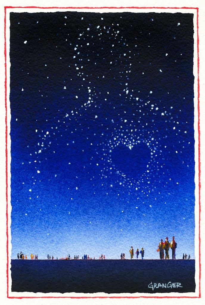 Affiche du 10e Festival Regards Croisé