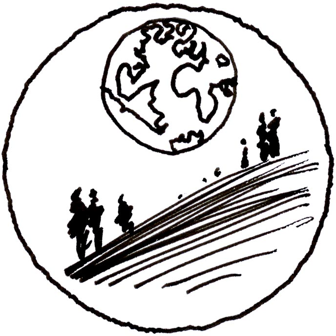 Michel Granger - Timbre pour la declaration universelle des droits de l'homme